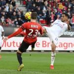 <b>EN IMAGES. À dix contre onze, Caen n'a rien pu faire face à Rennes</b>