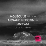 <b>Molécule et Arnaud Rebotini en concert ce soir au Bikini !</b>