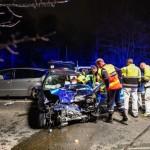 <b>Seine-et-Marne. (En images) Cinq  blessés dans un accident sur la D471</b>