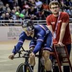 <b>Mondiaux de cyclisme : le Girondin Quentin Lafargue remporte la première médaille d&#039;or français...</b>