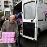 <b>Manche : une entreprise offre 600 kg de denrées aux Restos du Cœur</b>