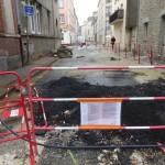 <b>Cherbourg : un problème technique retarde les travaux rue Grande-Vallée</b>