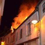 <b>Toulouse. Le feu se déclare en pleine nuit : une maison entièrement détruite par un incendie</b>