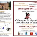 <b>Concert au château de Montlaur - D'espagne en Argentine, de Classique en Tango</b>