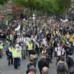 <b>Acte 25 des gilets jaunes à Toulouse : retrouvez les temps forts de la manifestation en images</b>