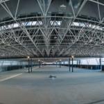<b>En chantier près de Toulouse, ce gigantesque bâtiment pourra accueillir jusqu'à 10 000 visiteur...</b>