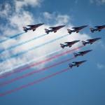 <b>La Patrouille de France survolera Toulouse, vendredi, en bleu-blanc-rouge</b>