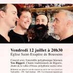 <b>Ensemble polyphonique pyrénéen Vox Biggeri</b>