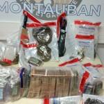 <b>Montauban. Trafic de stups démantelé : cocaïne, cannabis et 100 000 euros en liquide saisis</b>