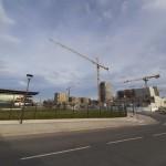 <b>Toulouse. Sous les yeux des automobilistes, un « mastodonte urbain » sort de terre près du périph...</b>