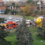 <b>Toulouse. Un camion se renverse sur le périphérique, du carburant se déverse sur la chaussée</b>