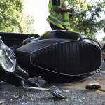 <b>Toulouse. La pilote d'un scooter truffé de stupéfiants chute en glissant sur...une ligne blanch...</b>