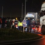 <b>Toulouse. Les transports routiers en grève débarquent sur l'autoroute, un échangeur fermé</b>