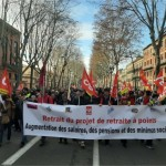 """<b>Grève du 10 décembre. À Toulouse, une mobilisation en baisse et quelques """"incidents"""" après...</b>"""