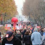 <b>DIRECT. Grève du 10 décembre : suivez les temps forts de la manifestation à Toulouse</b>