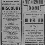 <b>Insolite. Ces menus de réveillon gargantuesques des restaurants de Toulouse… en 1936</b>