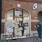 <b>Municipales 2020 à Toulouse. La permanence de Jean-Luc Moudenc prise pour cible, une plainte déposée</b>