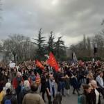 <b>Grève du 17 décembre : revivez la manifestation dans les rues de Toulouse</b>