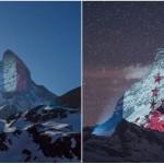 <b>Coronavirus : une montagne suisse s'illumine en soutien aux pays impactés</b>