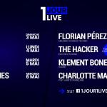 <b>Confinement : des concerts quotidiens gratuits chez toi avec «1 JOUR 1 LIVE» !</b>