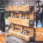 <b>Une créatrice sur bois imagine un Bar à Pétanque personnalisable à base de palettes !</b>